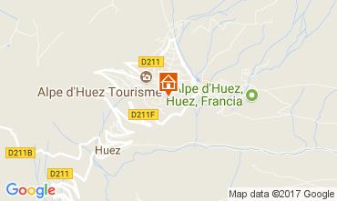Karte Alpe d'Huez Studio 112609