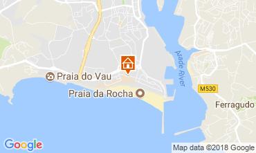Karte Praia da Rocha Appartement 115010