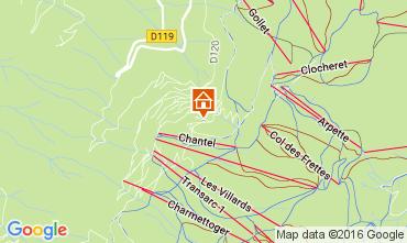 Karte Les Arcs Appartement 106746