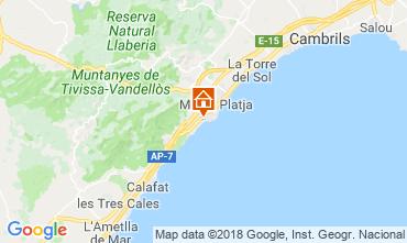 Karte La Ametlla de Mar Villa 114454