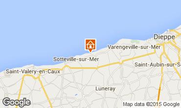Karte Saint-Aubin-sur-Mer Ferienunterkunft auf dem Land 86385