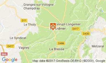 Karte Gérardmer Chalet 112489