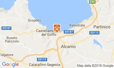 Karte Castellammare del Golfo Haus 97356