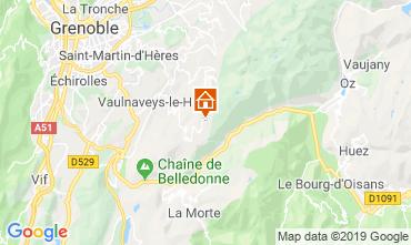 Karte Chamrousse Studio 744