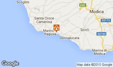 Karte Marina di Ragusa Villa 96577