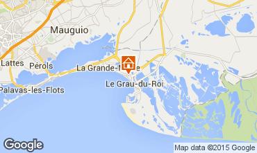 Karte Le Grau du Roi Villa 75473
