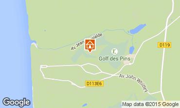 Karte Hardelot Villa 85806