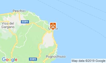 Karte Vieste Bungalow 108206
