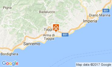 Karte Santo Stefano al Mare Appartement 110585