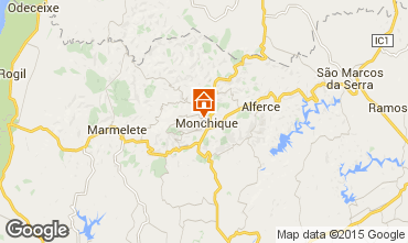 Karte Monchique Mobil-Home 11474