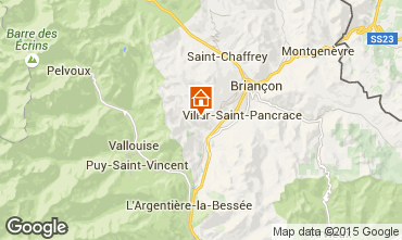 Karte Briançon Chalet 33866