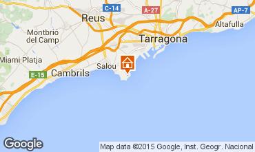 Karte La Pineda Appartement 92971