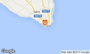 Karte Santa Maria di Leuca Appartement 79689