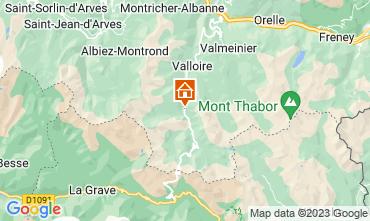 Karte Valloire Appartement 3383