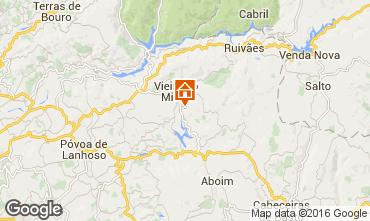 Karte Vieira do Minho Ferienunterkunft auf dem Land 38989