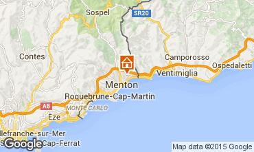 Karte Menton Ferienunterkunft auf dem Land 5408