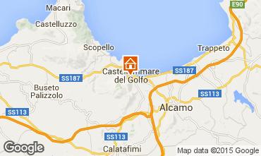 Karte Castellammare del Golfo Fremdenzimmer 101261