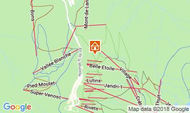 Karte Les 2 Alpes Appartement 116663