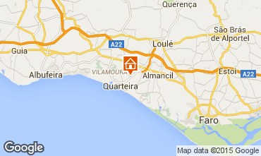 Karte Quarteira Villa 56466