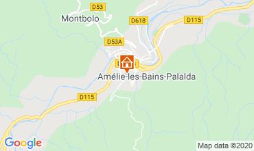 Karte Amélie-Les-Bains Studio 101149