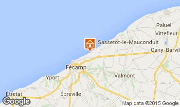 Karte Fécamp Ferienunterkunft auf dem Land 19757