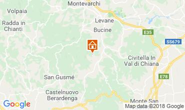 Karte Arezzo Haus 117228