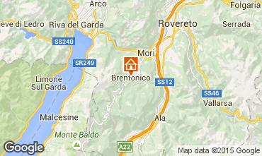 Karte Riva del Garda Appartement 29212