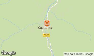 Karte Cauterets Appartement 55364