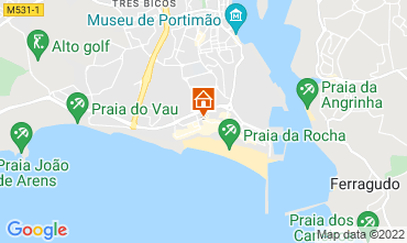 Karte Praia da Rocha Appartement 67223