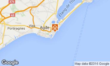 Karte Cap d'Agde Studio 102948