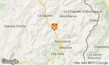 Karte Morzine Chalet 74269