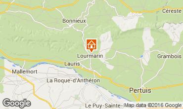 Karte Lourmarin Villa 102991