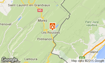 Karte Les Rousses Appartement 73967