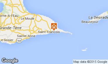 Karte Saint Francois Villa 8020