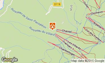 Karte Les Arcs Appartement 51136