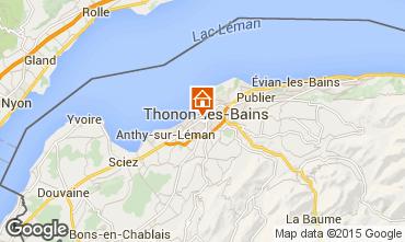 Karte Thonon Les Bains Appartement 101933