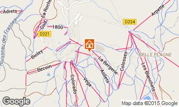 Karte La Plagne Appartement 85275