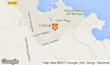 Karte L'Escala Villa 96172