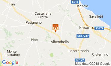 Karte Alberobello Villa 113883
