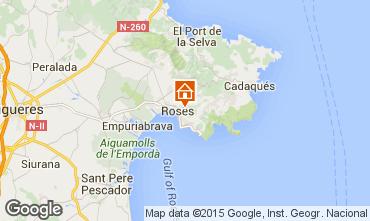 Karte Rosas Villa 80944