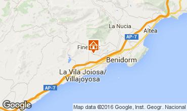 Karte Benidorm Villa 102368