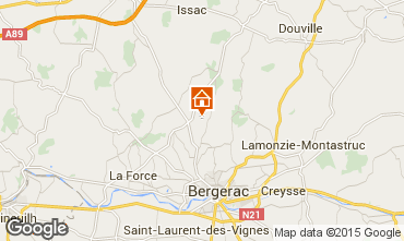 Karte Bergerac Haus 30713
