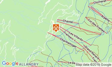 Karte Les Arcs Appartement 116604