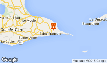 Karte Saint Francois Studio 94193