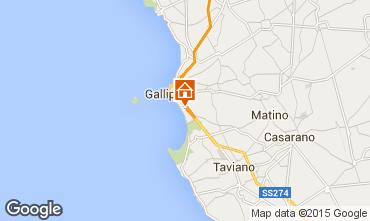 Karte Gallipoli Appartement 99290