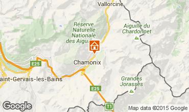 Karte Chamonix Mont-Blanc Chalet 682