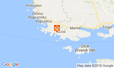 Karte Trogir Haus 114405
