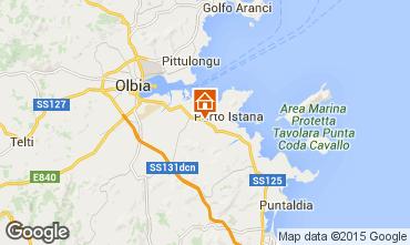 Karte Olbia Appartement 35693