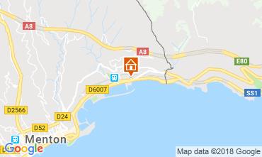 Karte Menton Appartement 59052