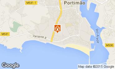 Karte Praia da Rocha Appartement 69157